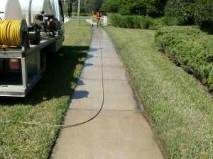 sidewalk pressure washing orlando