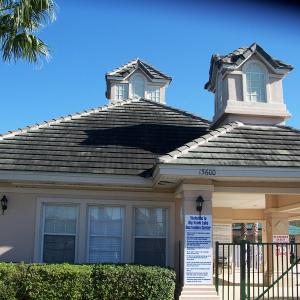 Tile Roof Cleaning  for HOA communities